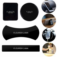Harga 4 Pcs Magic Flourish Lama Fixate Gel Pads Strong Stick Glue Anywhere Wall Sticker Reuseable Amazing Nano Rubber Pad Universal Sticker No Trace Multi Function Mobile Phone Holder Car Kits Car Bracket Washable Sailor Sticker Intl Oem Asli