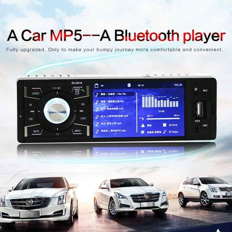 Rp 710.596 4.1 Inch Single Din High Definition Car Auto MP5 Player ...