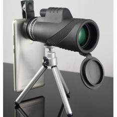 Jual 40 X Zoom Hd Optical Bermata Teleskop Lensa Ponsel Kamera Tripod 7319 Hitam Murah Di Tiongkok