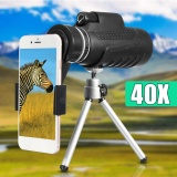 Jual 40X60 Mobile Phone Telescope Lens Universal Phone Clip Tripod Intl Not Specified