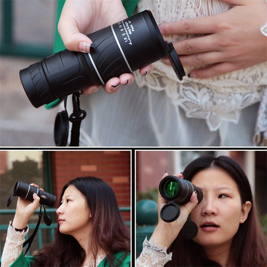 40X60 Zoom Outdoor Teleskop Monocular Hd Vision Teleskop Berburu Militer Monoculars Intl Diskon Akhir Tahun
