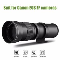 Harga 420 800Mm Super Telephoto Manual Lensa Dengan Adaptor Untuk Canon Eos Ef Kamera Intl Di Tiongkok