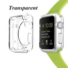 42 Mm Kristal Casing Silikon Case S Cover 6 Warna untuk Apple Watch-Intl