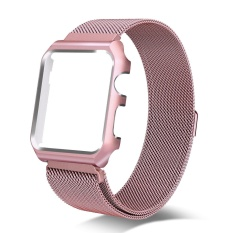 Jual 42Mm Milanese Loop Penggantian Band Dengan Metal Protective Case Untuk Apple Watch Series 3 Seri 2 Seri 1 Sport Edition Rose Gold Intl Import