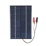 Beli 4 2 W 18 V Panel Surya Silikon Polikristal Dengan Klip Buaya Sel Surya Untuk Diy Power Charger Not Specified