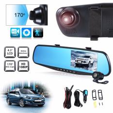 Review Toko 4 3 Dual Lens Car 12Mp 1080P Hd Dash Camera Dvr Cam Night Vision Recorder Online