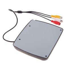 4.3 Inch TFT LCD Monitor + 7 LED Mobil Cadangan Kamera Rear View System-Intl