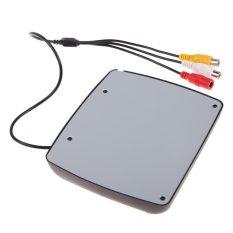 4.3 Inch TFT LCD Monitor + 7 LED Mobil Kamera Cadangan Rear View System-Intl