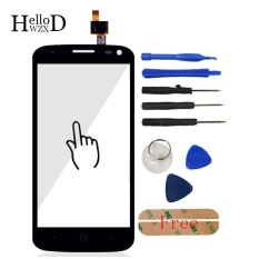 4.5inch Mobile Phone Front For ZTE Blade Q Lux / Qlux 3G 4G Touch Screen Glass Digitizer Panel Lens Sensor Free Adhesive + Free Tools - intl