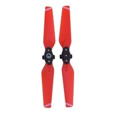 Review 4730F Pelepas Cepat Lipat Propeller Blades Cw Ccw Untuk Dji Spark Drone 2 Pcs Merah Tiongkok