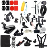 Review 48 In1 Mount Kit Set Mengambang Aksesori Monopod Untuk Go Pro Hero 1 2 3 4 5 6 Kamera Sjcam Xiao Yi Go Pro Intl Oem