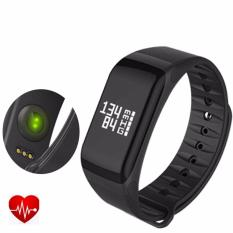 Jual 4Connect 4Fit Blood Pressure Hr Multifuntion Smartband Black 4Connect Murah