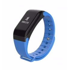 Promo 4Connect 4Fit Blood Pressure Hr Multifuntion Smartband Blue Murah