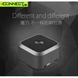 Harga 4Connect Qq200 Bluetooth 4 Speaker Cube Magnesium Alloy Body Wireless Bluetooth Stereo Mini Speaker Support Tf Card Black Online