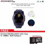 Promo 4Connect V8 Smartwatch With Gsm And Pedometer Function 4Connect 8Gb Microsdhc Uhs I Class 10 80Mb S 4Connect Terbaru