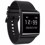 Beli 4Connect X9 Plus Blood Pressure Oxygen With Heart Rate Monitor With Activity Tracker Smartwatch Black Terbaru