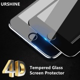 Penawaran Istimewa 4D Curved Edge Full Cover Tempered Glass For Iphone 8 Plus Tempered Glass Screen Protector Curved Cover Protective Film For Iphone 8Plus 5 5Inch Intl Terbaru
