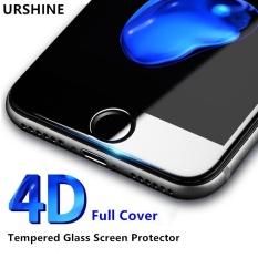 4D Curved Edge Tempered Glass untuk IPhone 6 6 S Full Cover Pelindung Pelindung Film Layar PREMIUM untuk IPhone 6 S 4.7