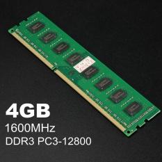 4 GB DDR3 PC3-12800 1600 MHz Memory RAM PC Desktop DIMM 240 PIN untuk AMD Sistem-Intl