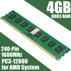 4GB DDR3 PC3-12800 1600MHz Desktop PC DIMM Memory RAM 240 pins For AMD Syste - intl