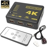 Beli 4 K 5 Port Full Video Hdmi Switch Switcher Splitter Remote Control Untuk Hdtv Dvd Intl Nyicil