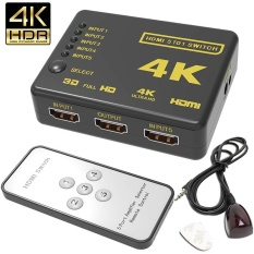 Harga 4 K 5 Port Full Video Hdmi Switch Switcher Splitter Remote Control Untuk Hdtv Dvd Intl Dan Spesifikasinya