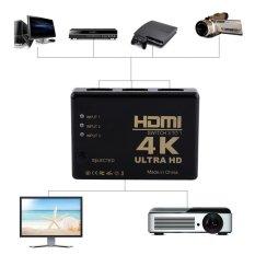 Spesifikasi 4 K Ultra Hd 1080 P 3 Port Hdmi Switch Switcher Amplifier Selector Splitter Hub For Hdtv Yang Bagus