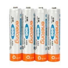 Harga 4Pcs Battre Baterai Battery Ni Mh Aaa A3 900Mah Enelong Rechargeable Camera Kamera Mainan Mobilan Original