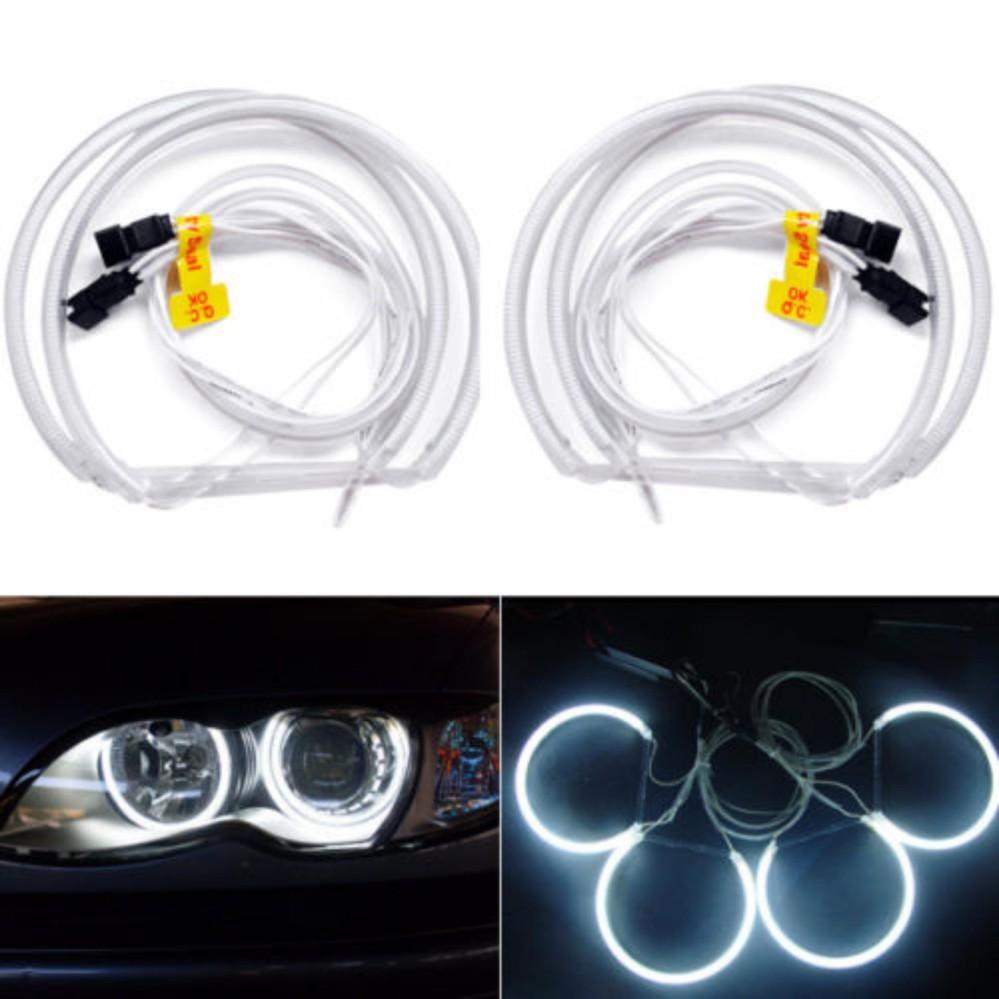 Spesifikasi 4X Ccfl Angel Eye Cincin Halo Lampu Bulbs Lampu Depan Untuk Bmw E36 E46 Putih Intl Terbaik