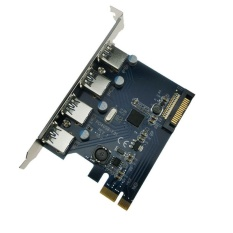 Harga 4X Usb 3 Pci Express Kartu Pcie Host Controller Adapter Fresco Fl1100 Intl Terbaru