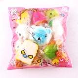 Harga 5 7 Cm 15 Pcs Cute Jumbo Medium Acak Licin Soft Phone Bag Backpack Rantai Straps Decor Hadiah Paket Kualitas Tinggi Intl Lengkap