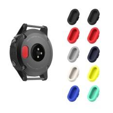 5 Pcs Multi Warna Soft Silicone Charger Port Protector Anti Debu Terpasang Topi untuk Fenix 5/5 S/ 5X/Forerunner 935 Jam Tangan Pintar-Intl
