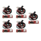Toko 5 Pcs Landai Switch Mekanik Endstop 1 4 With Kabel For 3 D Printer Makerbot Prusa Mendel Rep Rap Cnc Arduino Mega 2560 1280 Online Hong Kong Sar Tiongkok