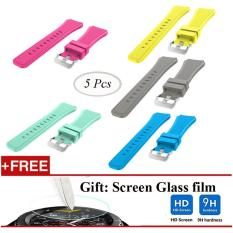 5 Pcs Sports Silicone Bracelet Strap Band For Samsung Gear S3 Classic S3 Frontier Intl Oem Diskon 40