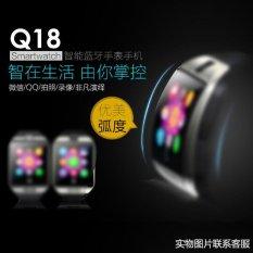 5 * PcsQ18 Bluetooth Smart Watches Dapat Dimasukkan Ke Dalam Kesehatan Pemantauan Mendukung Facebook Sendiri NFC Pabrik Langsung- INTL