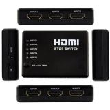 Promo 5 Port Hdmi Switcher 1080 P Switch Selector Splitter Hub Ir Remote Untuk Hdtv Internasional Di Tiongkok