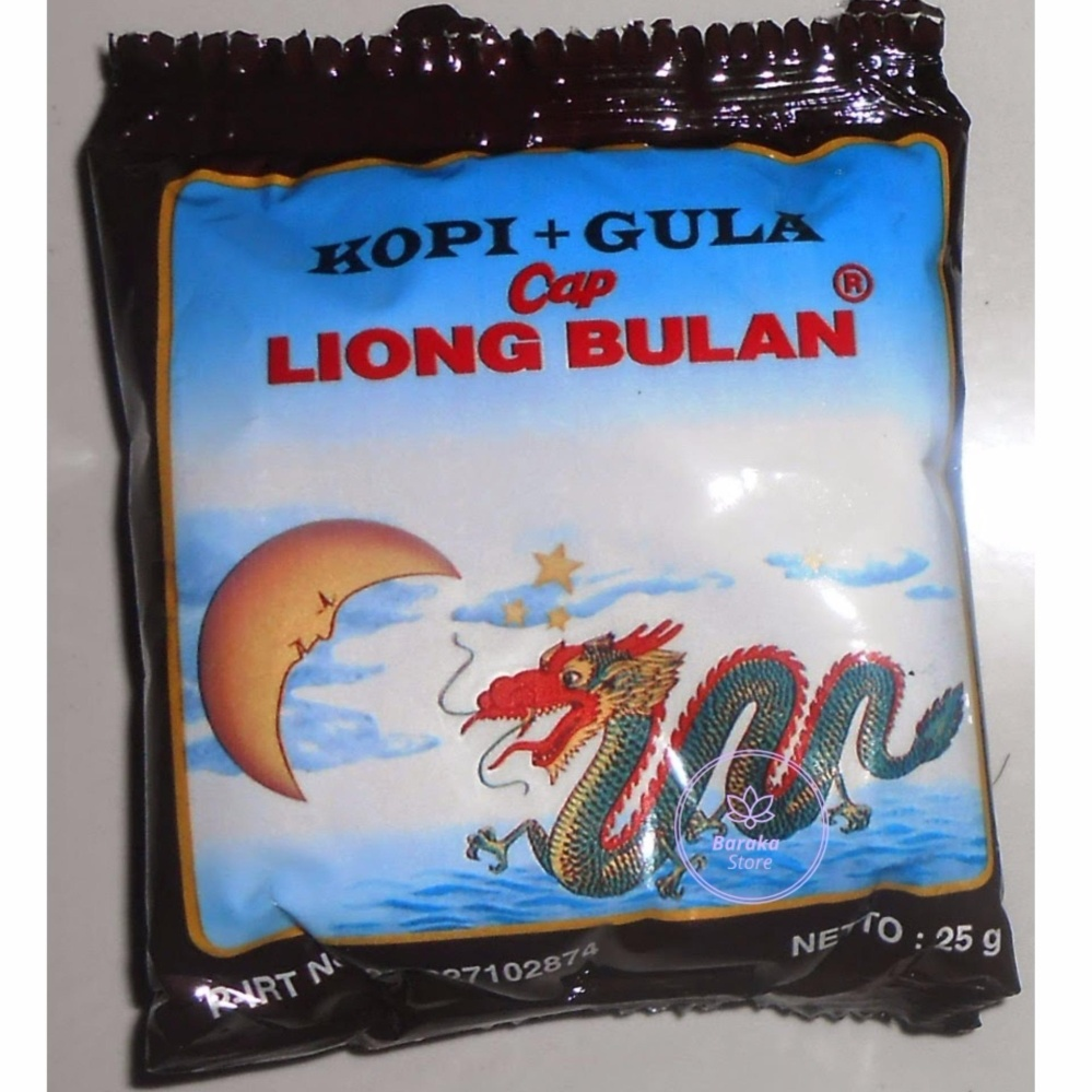 40 sachet Kopi Liong Bulan Mantap - Khas Bogor
