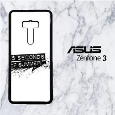 5 Second 0f Summer G0054 Casing Custom Hardcase Asus Zenfone 3 5.5 Case Cover