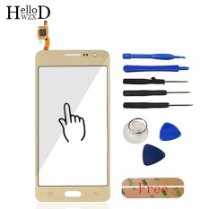 5.0 Inch Touch Front High Glass Screen Digitizer Panel untuk Samsung GALAXY Grand Prime G530 SM