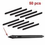 50 Pcs Lot Graphic Drawing Pad Standard Black Pen Nibs Stylus Untuk Wacom Bamboo Intuos Cintiq Cte Mte Ctl Cth Series Pad Pena Internasional Wacom Diskon 30