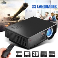 5000 Lumens LED Home Cinema Theater Projector 1080p HD Movie Game HDMI USB VGA US Plug - intl