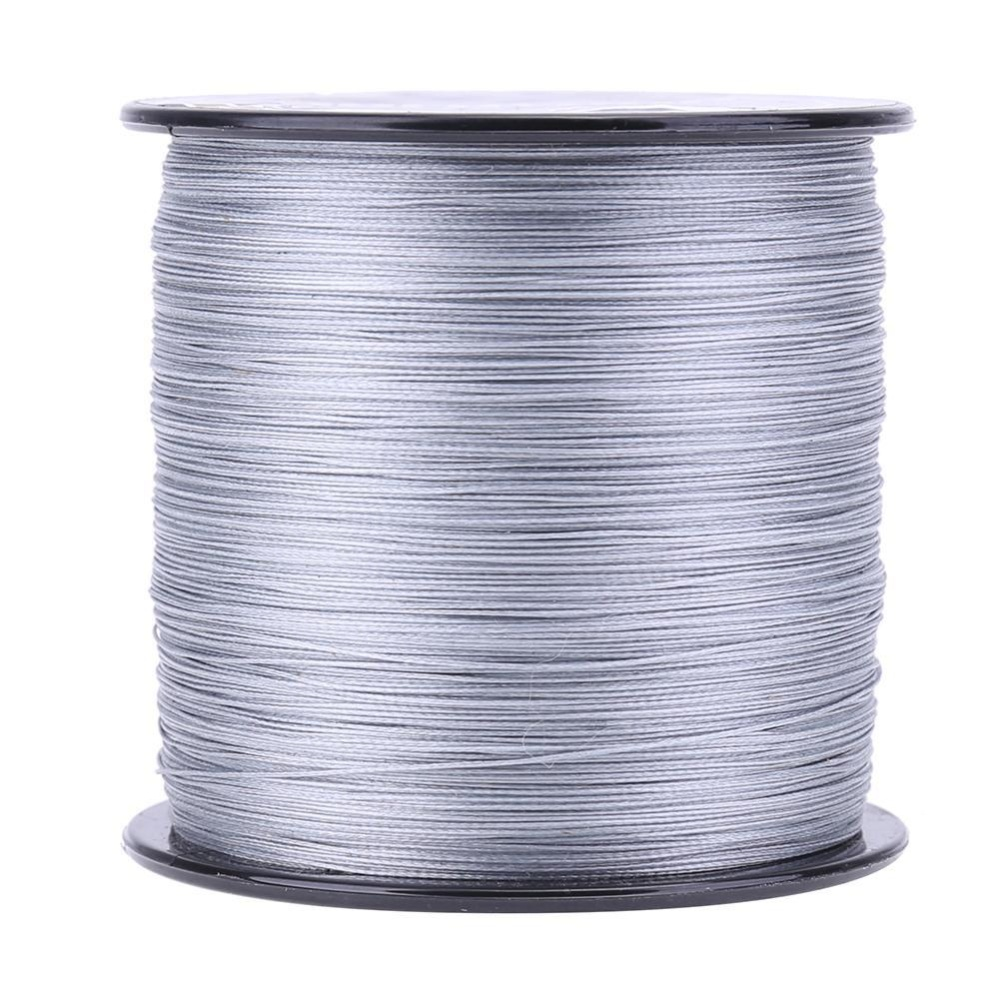 500M Pe Weaving Strong 8 Strands Multifilament Braided Fishing Line Grey Grey 2 5 Intl Not Specified Diskon 30