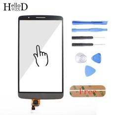 5.0 Inch untuk LG G3 D850 D855 D851 LS990 Touch Front High Glass Screen Digitizer Panel Lens Sensor FLEX Cable Capacitive + Alat Gratis + Free Perekat-Intl