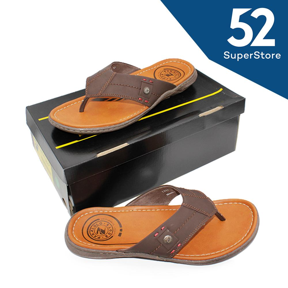 Promo 52 Fashion Pakalolo Boots Sandal Casual Pria 01251 A Coklat Size 40 44 52 Fashion Terbaru