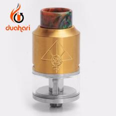 Miliki Segera 528 Custom Goon V2 Rdta Rta Rda Atomizer 24 Mm Top Quality Clone 1 1 Vape Vaporizer Electric Cigarette Gold