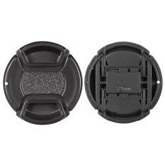52 Mm Pusat Pinch Snap-On Lensa Kover Tutup Penjaga Dudukan untuk Canon Nikon Sony Olympus DSLR