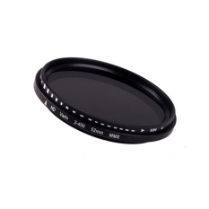52mm Fader Variable ND Filter Adjustable ND2 untuk ND400 Neutral Density-Intl