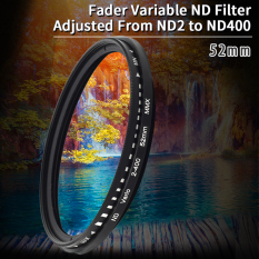 Beli 52Mm Slim Fader Variabel Filter Nd Kepadatan Netral Dapat Nd2 Untuk Nd400 Online
