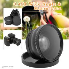 Toko 52Mm Wide Angle Lensa Makro Untuk Panasonic Lumix Dmc Gf1 Gf2 Gf3 G1 G2 G3 G3K Lf36 Intl Termurah