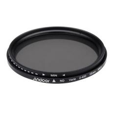 Jual 55Mm Nd Fader Netral Dapat Disesuaikan Kepadatan Nd2 For Nd400 Variabel Filter For Canon Nikon Dslr Kamera Original